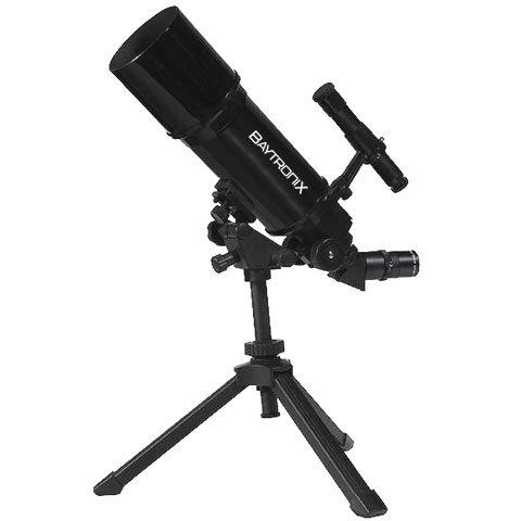 Black Twinstar Astromark 80Mm 16-40X Portable Refractor Telescope Kids Pak Bundle