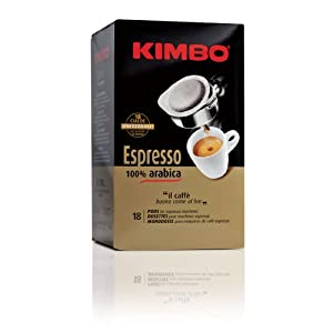 Choose Kimbo Espresso 100% Arabica ESE Pods 18 x 7g by Cafe Do Brasil