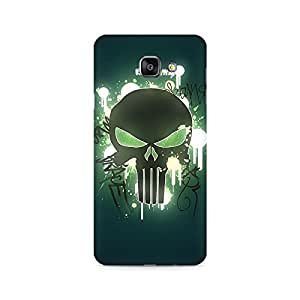 Ebby Angry Skull Premium Printed Case For Samsung A510 2016 Version