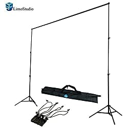 LimoStudio Photography Photo Studio 10' x 8.5' Background Stand Backdrop Support System Kit, AGG292
