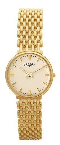 Rotary LB10900/03 Ladies 9ct Gold Bracelet Watch