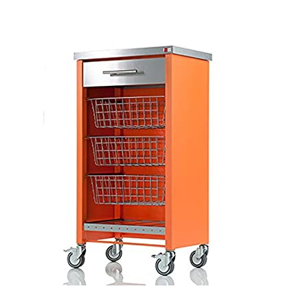 Chelsea Orange Kitchen Trolley