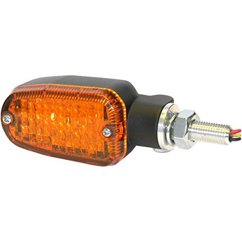 K&S Technologies Dot Led Marker Lights - 3 Wires - Black/Amber 26-7701Bk
