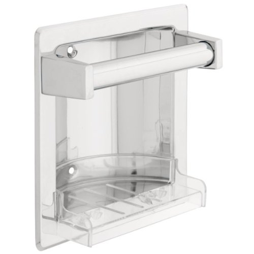 Franklin Brass 608 Recessed Soap Dish with Bar (Franklin Brass Soap Dish compare prices)