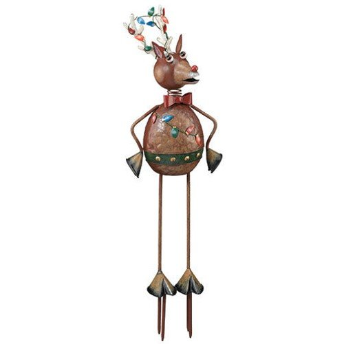 Christmas Garden 3D Decor Reindeer 26in - Regal Art #A621