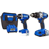 Kobalt 24-Volt Max Lithium Ion Brushless Motor Cordless Combo Kit with Soft Case