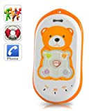 GPS Tracker Mobile Phone For Kids With SOS Calls And Voice Monitoring Quadband GSM