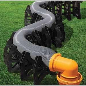 RV Sewer Hose Support