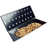 Charcoal Companion Long Non-Stick Gas Grill V-Shape Smoker Box
