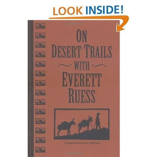 On Desert Trails With Everett Ruess