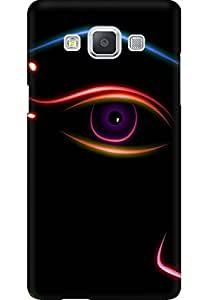 AMEZ designer printed 3d premium high quality back case cover for Samsung Galaxy A5 (abstract eye)