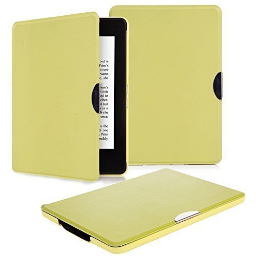 Nouske Premium PU Leather Cover for Amazon Kindle Paperwhite - Green