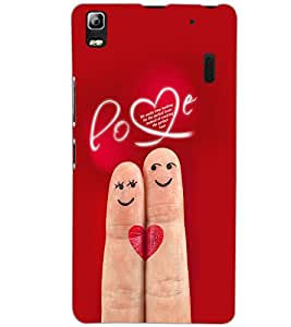 LENOVO A7000 PLUS LOVE Back Cover by PRINTSWAG
