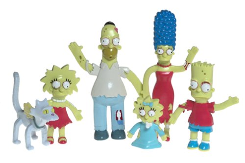 Buy Simpsons Halloween Bendables Boxed Set 1B0000E3D8J Filter