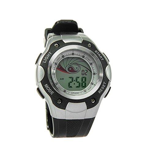 8Years - 1 Digitaluhr Armbanduhr Watch Stoppuhr Wasserdicht Schwarz