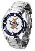 Illinois Fighting Illini Titan Steel Watch