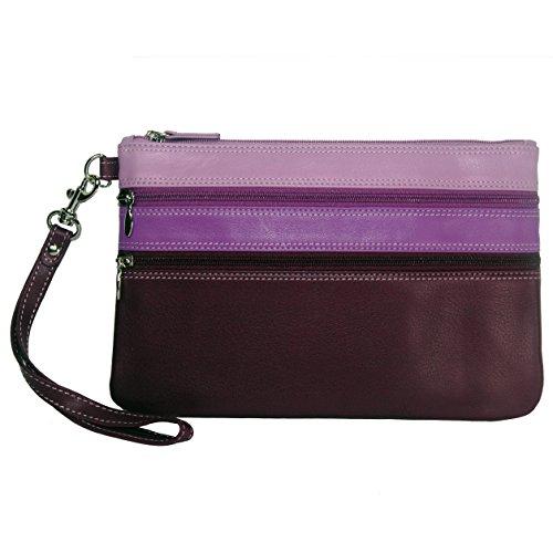 belarno-large-trizip-multi-color-clutch-in-black-rainbow-combination-purple