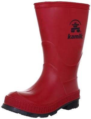 Kamik Stomp EK6149, Unisex - Kinder Stiefel, Rot (red), EU 22 (US 5)