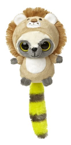 "Aurora World YooHoo & Friends Wanna Be Lion Plush, 5"" Tall"