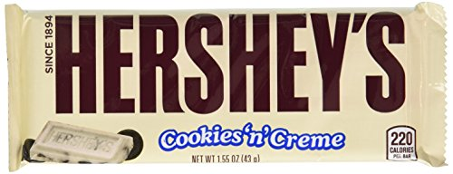 034000002399 - HERSHEY'S Extra Large Cookies 'n' Creme Bar (4-Ounce Bar) carousel main 0