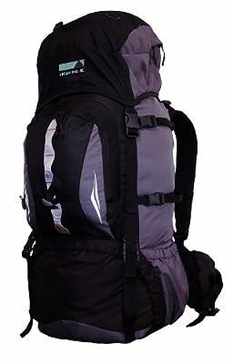 High Peak Rucksack Sirius, schwarz/grau, 80 Liter
