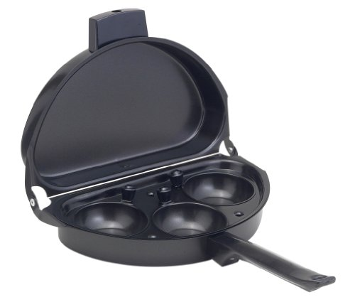 HIC Non-Stick Deluxe Omelet and Egg Poacher Pan, PFOA and BPA Free