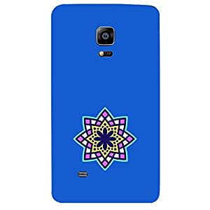 Skin4gadgets Artistically Drawn Mandala Tattoo In Pastel Colors -Royal Blue, No.14 Phone Skin for SAMSUNG GALAXY NOTE EDGE (N915)