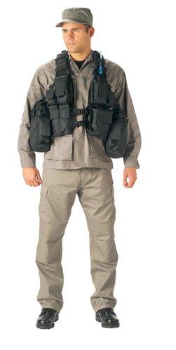 Black Tactical Hydration Assault Vest- One size fits all - Buy Black Tactical Hydration Assault Vest- One size fits all - Purchase Black Tactical Hydration Assault Vest- One size fits all (Rothco, Rothco Vests, Rothco Mens Vests, Apparel, Departments, Men, Outerwear, Mens Outerwear, Vests, Mens Vests)