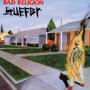 Original album cover of Suffer by BAD RELIGION