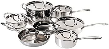 Cuisinart 12 Pc Stainless Cookware Set