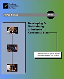 Developing & Maintaining a Business Continuity Plan