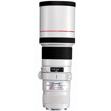 The Electronics World |   Canon EF 400mm f/5.6L USM Super Telephoto Lens for Canon SLR Cameras