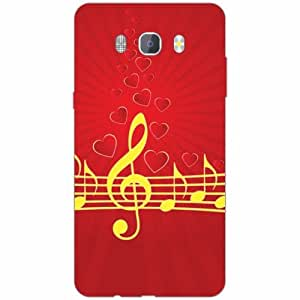 Samsung J7 new edition 2016 Back Cover - Silicon Musical Designer Cases