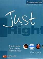 Just Right Pre intermediate Workbook by Carol Lethaby