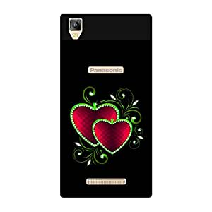 FASHEEN Premium Designer Soft Case Back Cover for Panasonic Eluga A2