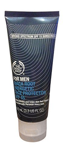 The Body Shop Maca Root For Men Energetic Face Protector SPF 15 (The Body Shop Condition For Hair compare prices)
