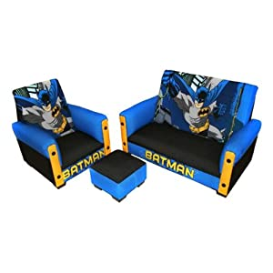 Warner Brothers Batman 3 Piece Toddler Sofa Set from Newco International Inc