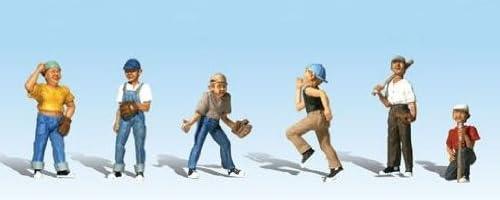 ■【KATO/カトー】(00201870)ウッドランド (HO) 野球をする少年2 レイアウト用品 鉄道模型 外国製 HOゲージ