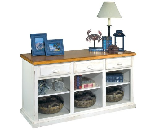 Order Kathy Ireland Home By Martin Furniture Southampton Oyster Deluxe  Hutch Top For L Shape Desk Coupon Low Cost
