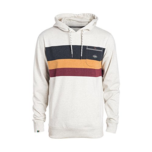 Rip Curl Yarnline Hooded Felpa, Moonbeam Marle, L