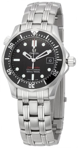 Omega Men's 212.30.36.61.01.001 Seamaster 300M Quartz Black Dial Watch