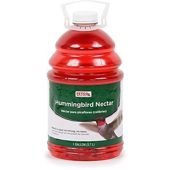 Cheap Backyard Sanctuary Hummingbird Nectar, 1 gallon, Color:Red (HBYS-128OZ)