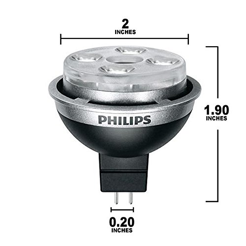 Philips 414789 - 10Mr16/End/F24/Dim 3000K Flood Led Light Bulb