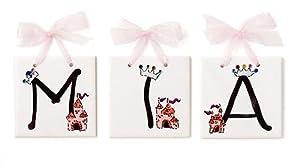 Hand Painted Name Tiles - Princess