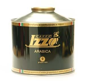 Izzo Kaffee Espresso - 100% Arabica, 1000g Bohnen Dose