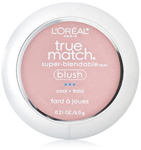 L'Oreal Paris True Match Super-Blendable Blush, Tender Rose, 0.21 Ounce