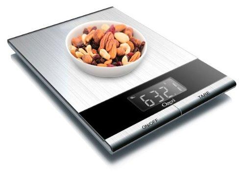 Ozeri - Balance de cuisine professionnelle digitale en acier inoxydable