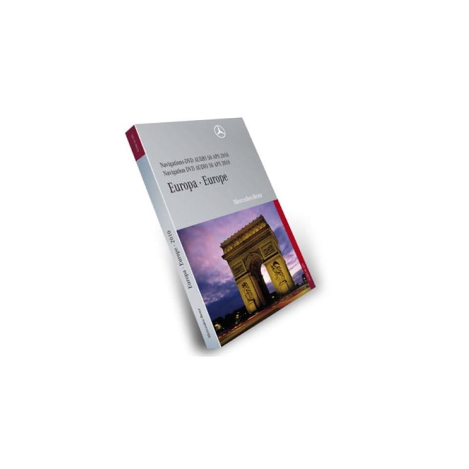 mercedes dvd audio 50 aps europa 2012 ntg4 204 navigation. Black Bedroom Furniture Sets. Home Design Ideas