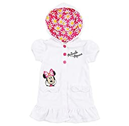 Disney Minnie Mouse Baby Girls\' Embroidered Swimsuit Cover Up (3 Months)