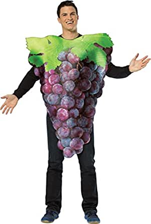 Morris Costumes Get Real Bunch Of Purple Grape Costume